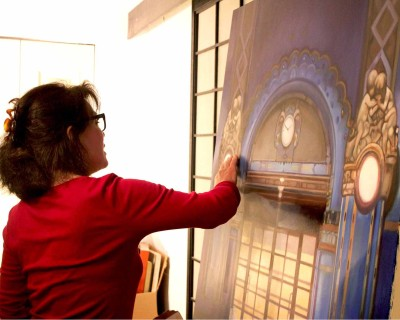 Gallery Tour & Studio Visit with Local Painter