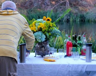 Romantic Dinner After the Crowds Have Left at Stow Lake