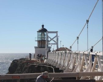 Dinner with Friends at the Point Bonita Light House